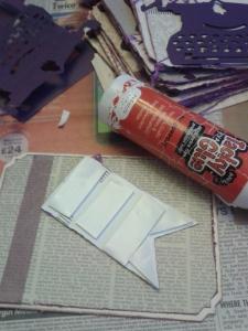 Washi tape and adhesives I used.