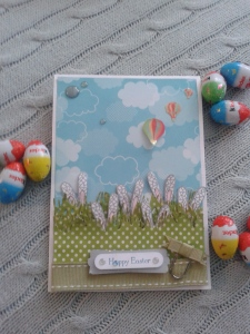 Finished Easter card.