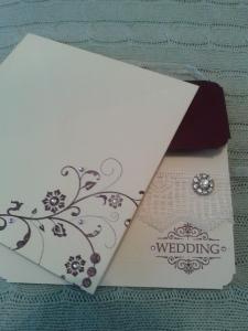 Envelope front.