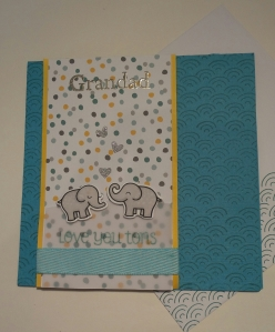 Male birthday card using some Lawn fawn stamp and die sets.