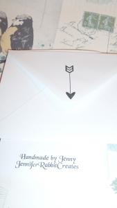 Envelope details.