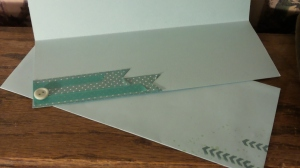 Washi tapes are quick and easy interior elements.