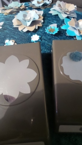 The Label Bracket punch and the Flower Medallion punch - both by Stampin' Up!