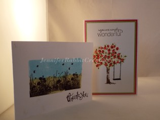 Both of these Cards were created by my friend Donna.